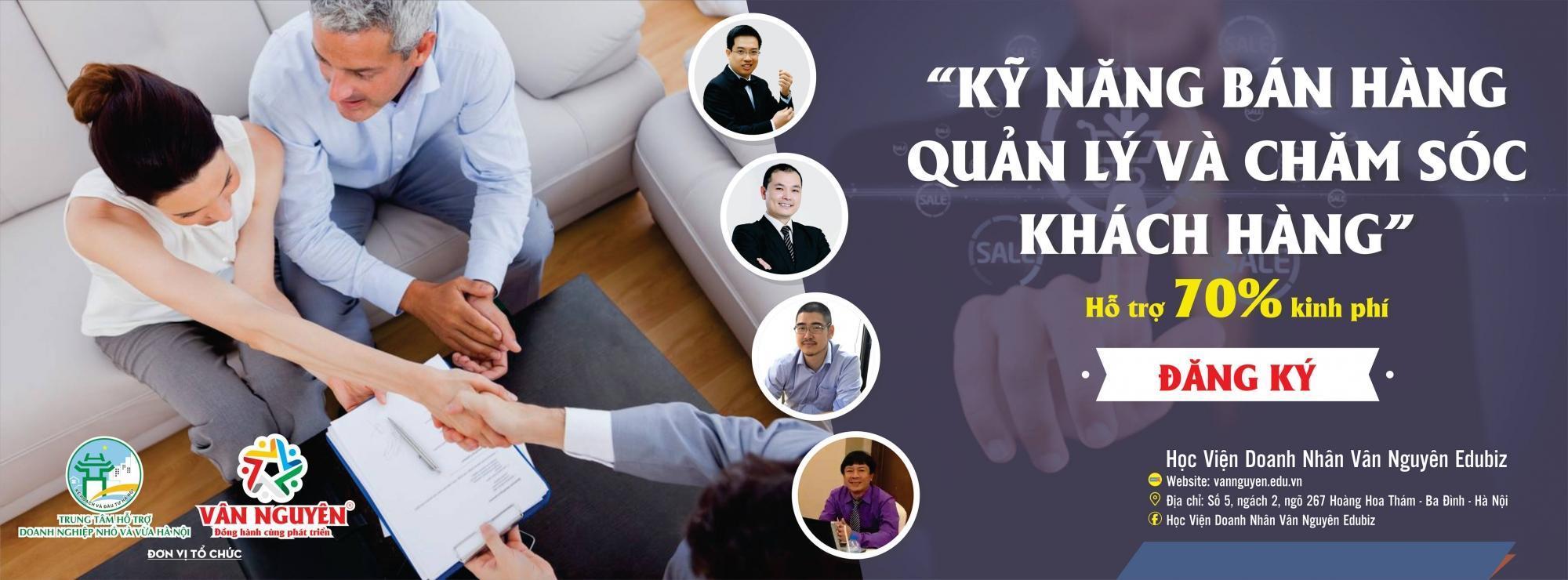 Kỹ năng bán hàng – Quản lý và chăm sóc khách hàng K23