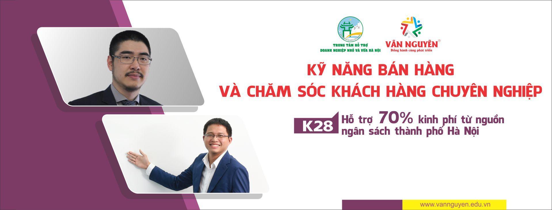 Kỹ năng bán hàng và chăm sóc khách hàng chuyên nghiệp – K28