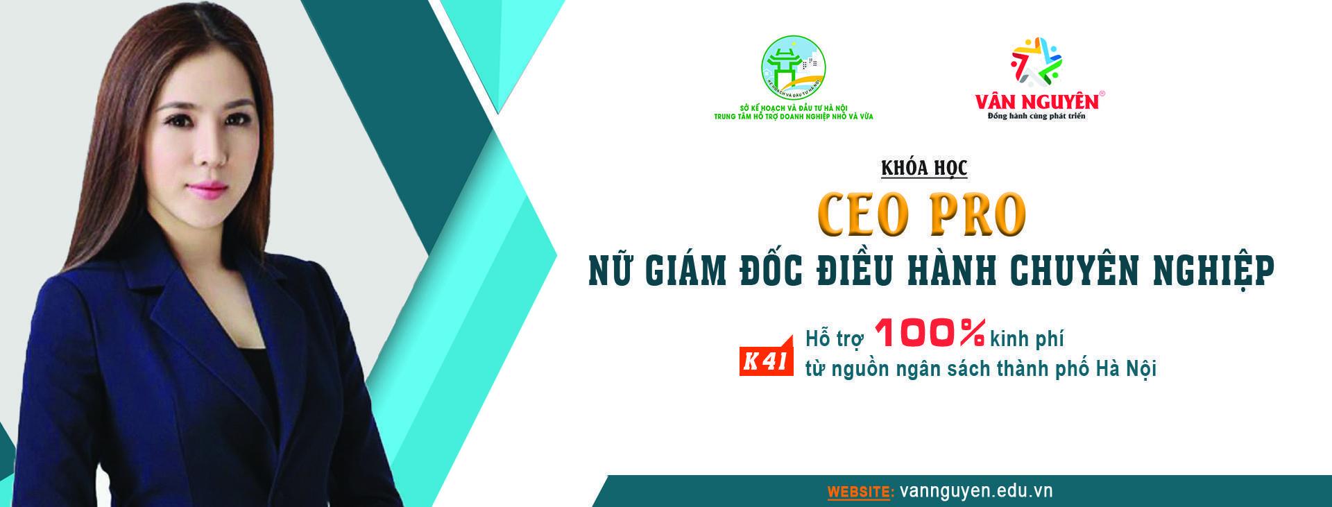 CEO PRO (K41) – Nữ giám đốc điều hành chuyên nghiệp