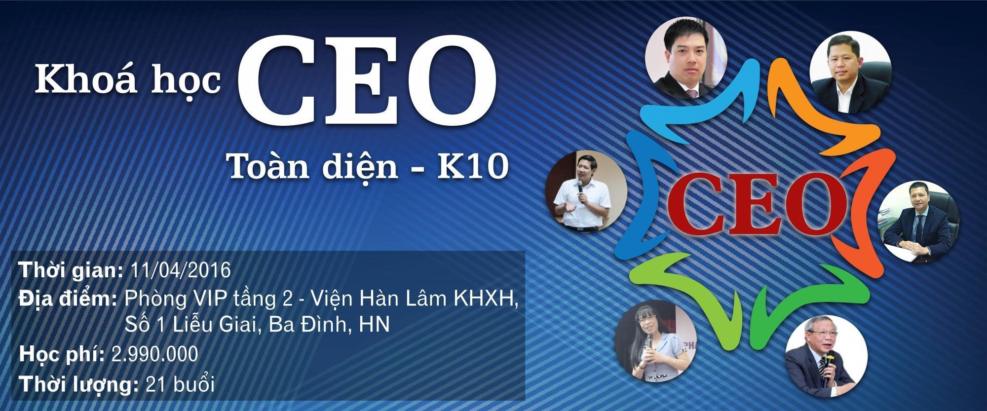CEO toàn diện – K10
