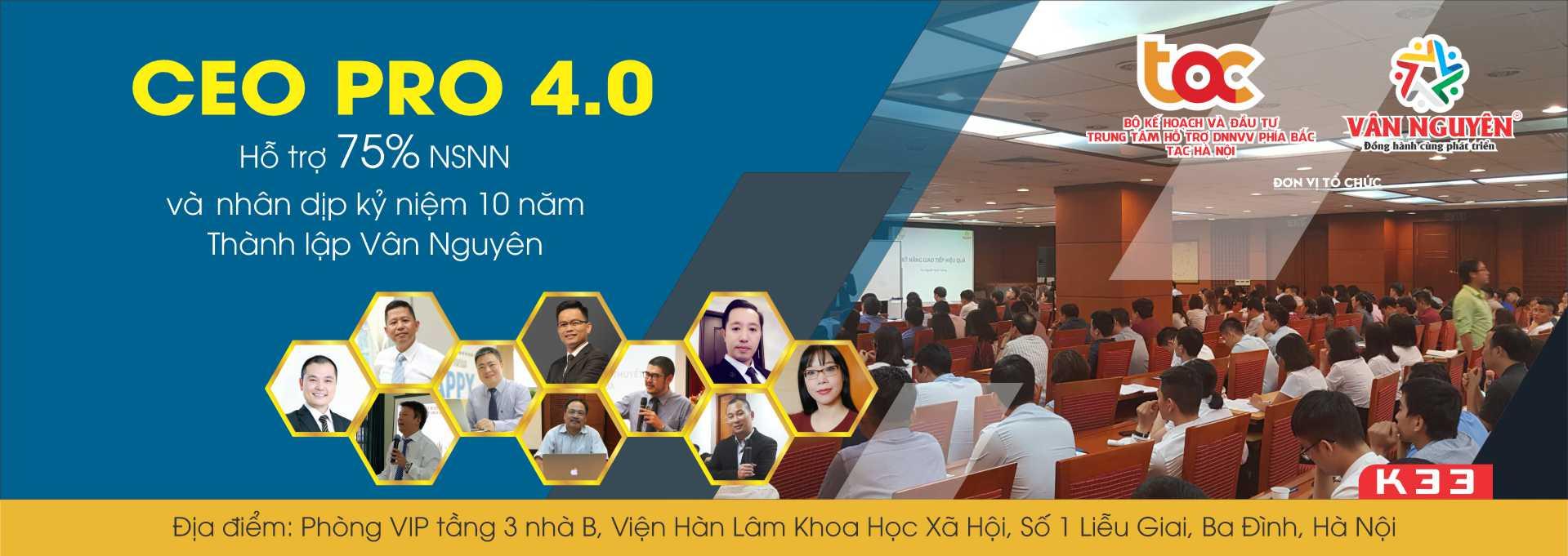 CEO PRO 4.0 – K33