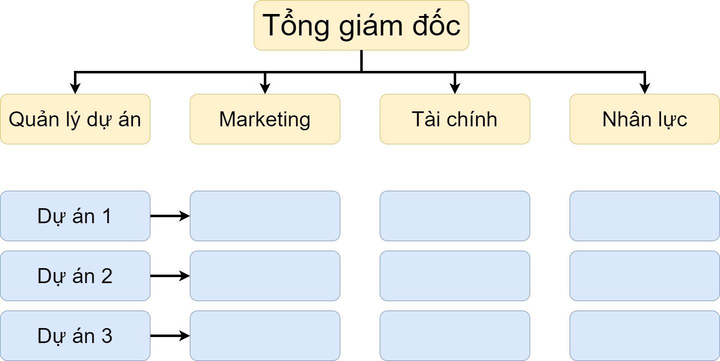 Mô hình tổ chức ma trận