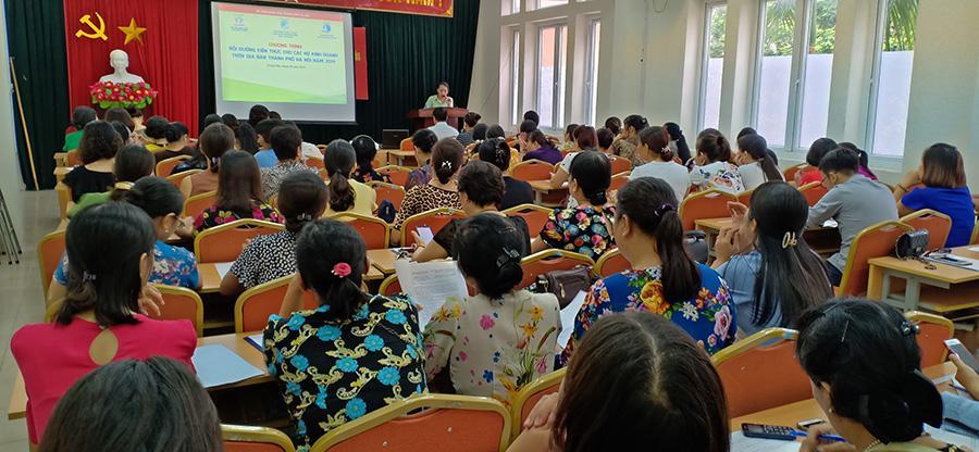 Khóa học bán hàng do Vân Nguyên tổ chức