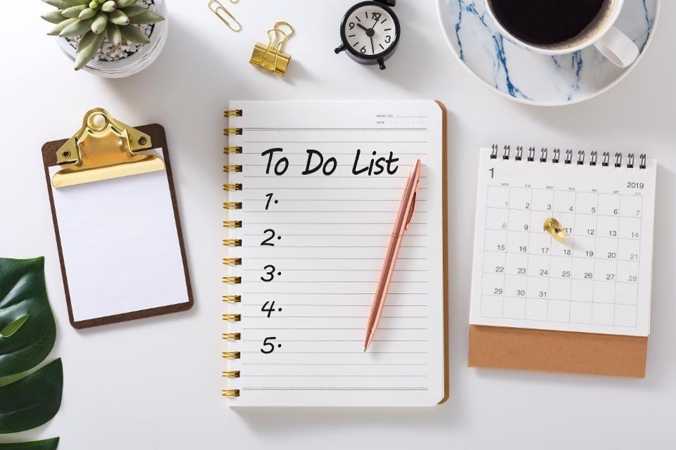 To do list chỉ là bước đầu tiên trong quản lý thời gian
